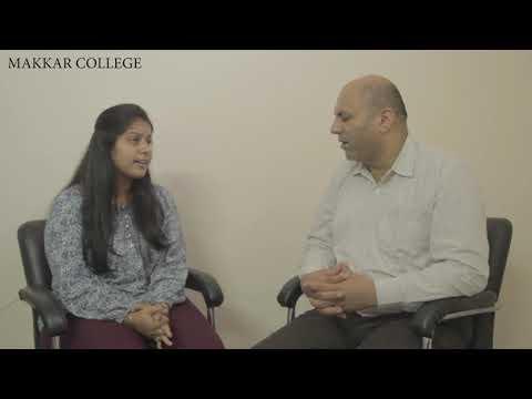 Makkar College Student Testimonial