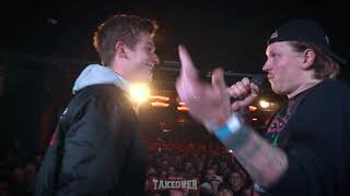 FINCH vs. CASHISCLAY   Vorrunde [3/4] Freestyle Turnier / Toptier Takeover 1