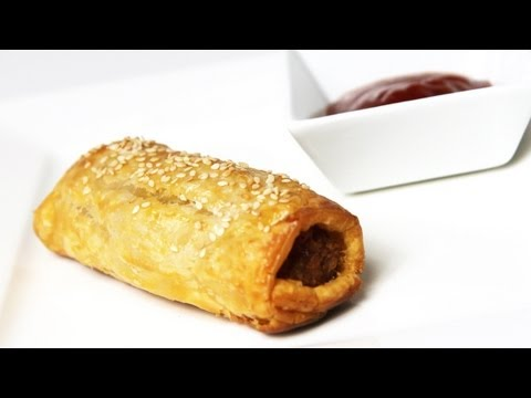 How To Make Sausage Rolls – Video Recipe