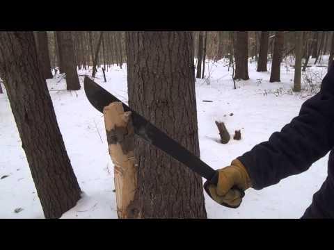 Ontario Field Machete 18 inch – Test