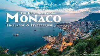 The Principality of Monaco. Timelapse & Hyperlapse