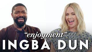 Charlize Theron and David Oyelowo Teach Afrikaans and Yoruba Slang | Vanity Fair - Video Youtube