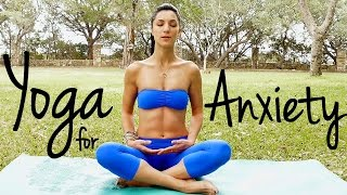 20 Minute Relaxing Yoga for Happiness | Melt Away Anxiety & Stress, Beginners at Home Yoga Flow by PsycheTruth