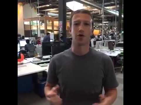 Mark Zuckerberg showing us Facebook HQ - Uploaded By  eziAssist admin