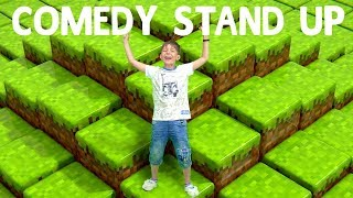 Стендап шоу от Адриана! Смешное видео в мире Майнкрафт.