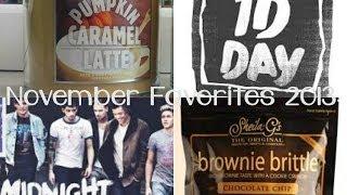 November Favorites 2013 ♥