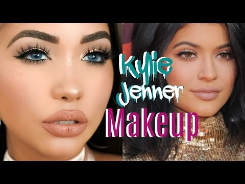 Kylie Jenner Makeup Tutorial | Easy Holiday Glam