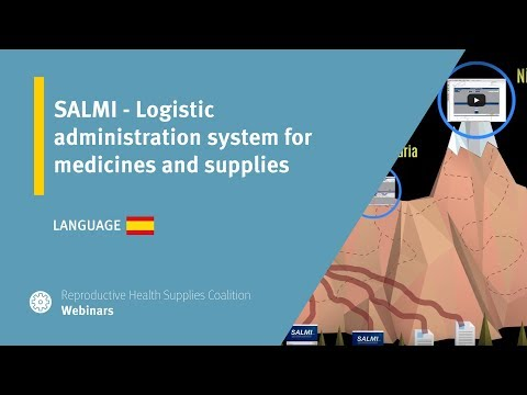 SALMI - Logistic administration system for medicines and supplies