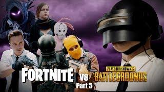 Fortnite vs PUBG 5