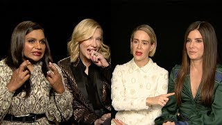Ocean's 8 cast talk women in Blockbusters and a female James Bond