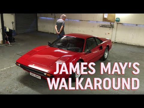 James May Ferrari 308 GTB Walkaround