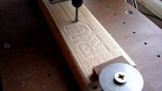 CNC Homemade Router Milling By Dremel Graving Tool PART 3