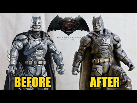 DC Multiverse: Armored Batman Makeover- Quick Custom Collectable!