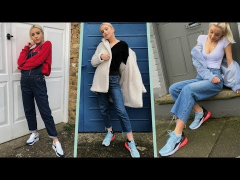 MY STYLE IN A LOOKBOOK- MY NIKE AIR MAX 1 & 270 #AD | Oliviagrace