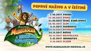 MADAGASKAR - Muzikálové dobrodružství 2017