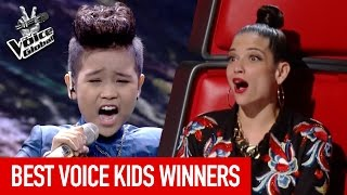 The Voice Kids | BEST WINNERS from around the world [PART 3]
