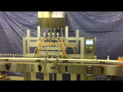 HyTek Automation Solutions - New HyTek 4 Head Liquid Filler #1141 HyTek Liquid Fillers Model HTK-LF8000