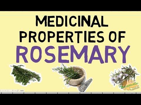 Video Rosemary properties