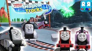 Spencer Race with Victor and Rosie | Thomas and Friends: Magical Tracks - Kids Train Set
