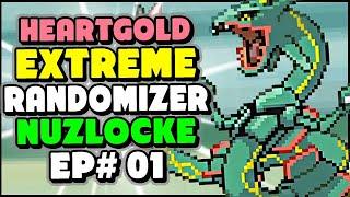 I HEAR BOSS MUSIC! - Pokemon HeartGold EXTREME Randomizer Nuzlocke Episode 1