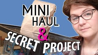 Dollhouse Miniatures Haul And Secret Project REVEALED!!