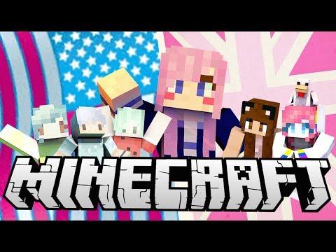 Minecraft Charades | UK vs. USA