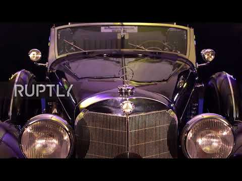 Hitler's Mercedes-Benz heads to auction in Scottsdale