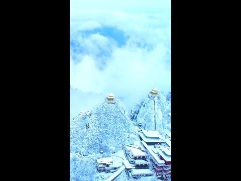 тибет зимой