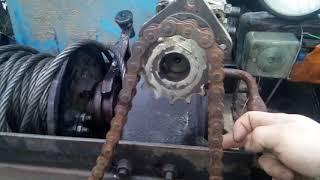 Установка лебедки газ 66 на трактор Т 40