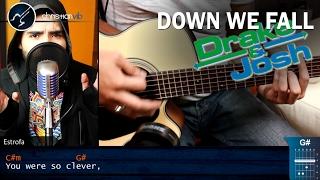 Down We Fall DRAKE & JOSH | Cover Tutorial Christianvib