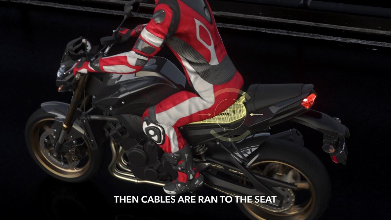 Небольшое устройство способно уменьшить количество смертей на мотоциклах