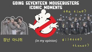 Going Seventeen Mouse Busters iconic moments (in my opinion)