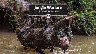 Jungle Warfare: U.S. soldiers train in Hawaii