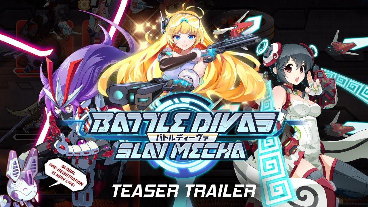 Battle Divas: Slay Mecha apre le pre-registrazioni su iOS e Android