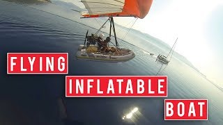 The Flying Inflatable Boat is Terrifying | Polaris