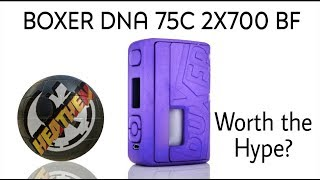 Boxer DNA75c Sigle 2x700 Squonk Box from Ginger Vaper Worth the Hype?