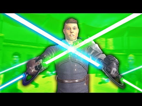RIDICULOUS INQUISITOR LIGHTSABER COMBO - Blades and Sorcery VR Mods (Star Wars)
