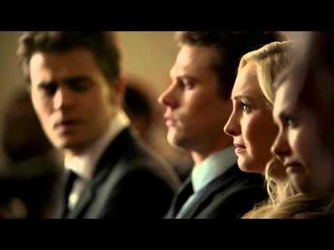 The Vampire Diaries 6x15 - Damon's Eulogy - Liz Forbes Funeral