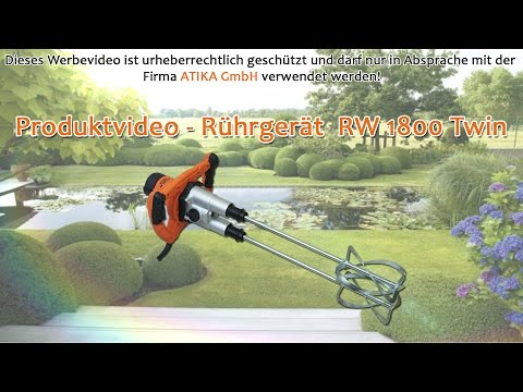 ATIKA Produktfilm - Rührgerät RW 1800 Twin