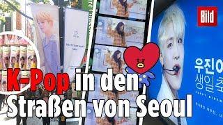 BTS Und Co.: So Präsent Ist K Pop In SeoulKorea! 🎵