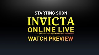 Invicta Online LIVE - Cruise Watch Preview