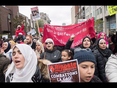 Anti-racism protest held against Quebec premier-designate Francois Legault's  immigration views