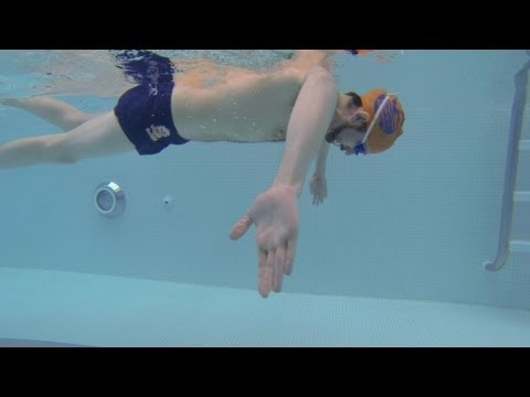 Sculling (assists with high elbow/underwater swim stroke mechanics) (Drill 12)
