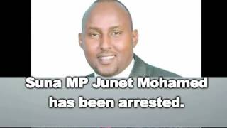 Suna East MP Junet Mohamed arrested by Homa Bay Police officers