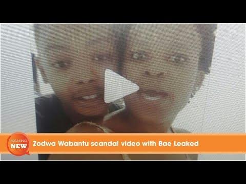 Scandal: Zodwa Wabantu scandal video with Bae Leaked