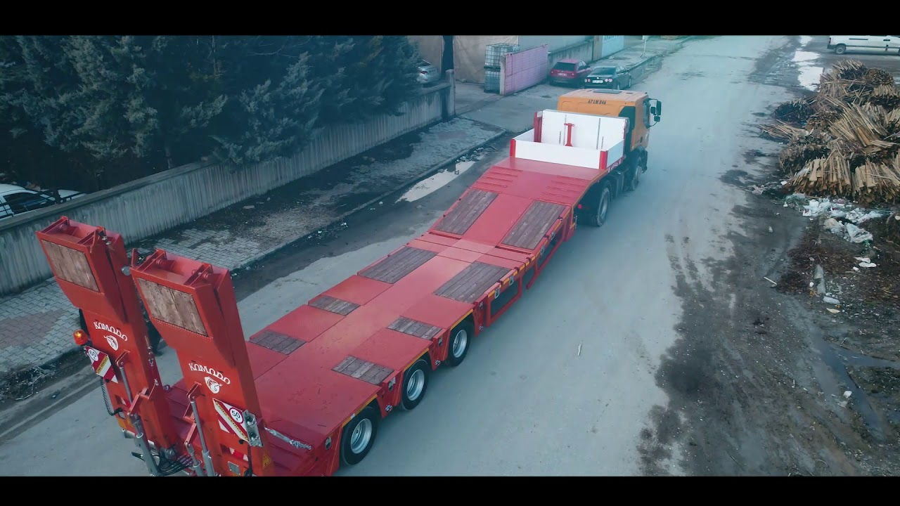 3 Axle Extendable Lowbed
