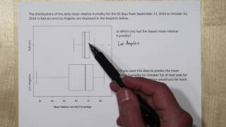 Understanding & Comparing Boxplots (Box and Whisker Plots)