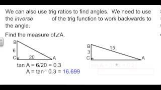 Geometry 8-4 Trigonometry