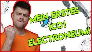 Mein erstes ICO! Wie aus 200€ in Electroneum 5000€ gezaubert werden!