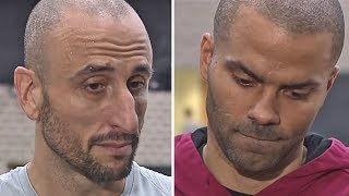 Manu Ginóbili & Tony Parker Emotional Reaction To Gregg Popovich's Wife Passing Away - Video Youtube